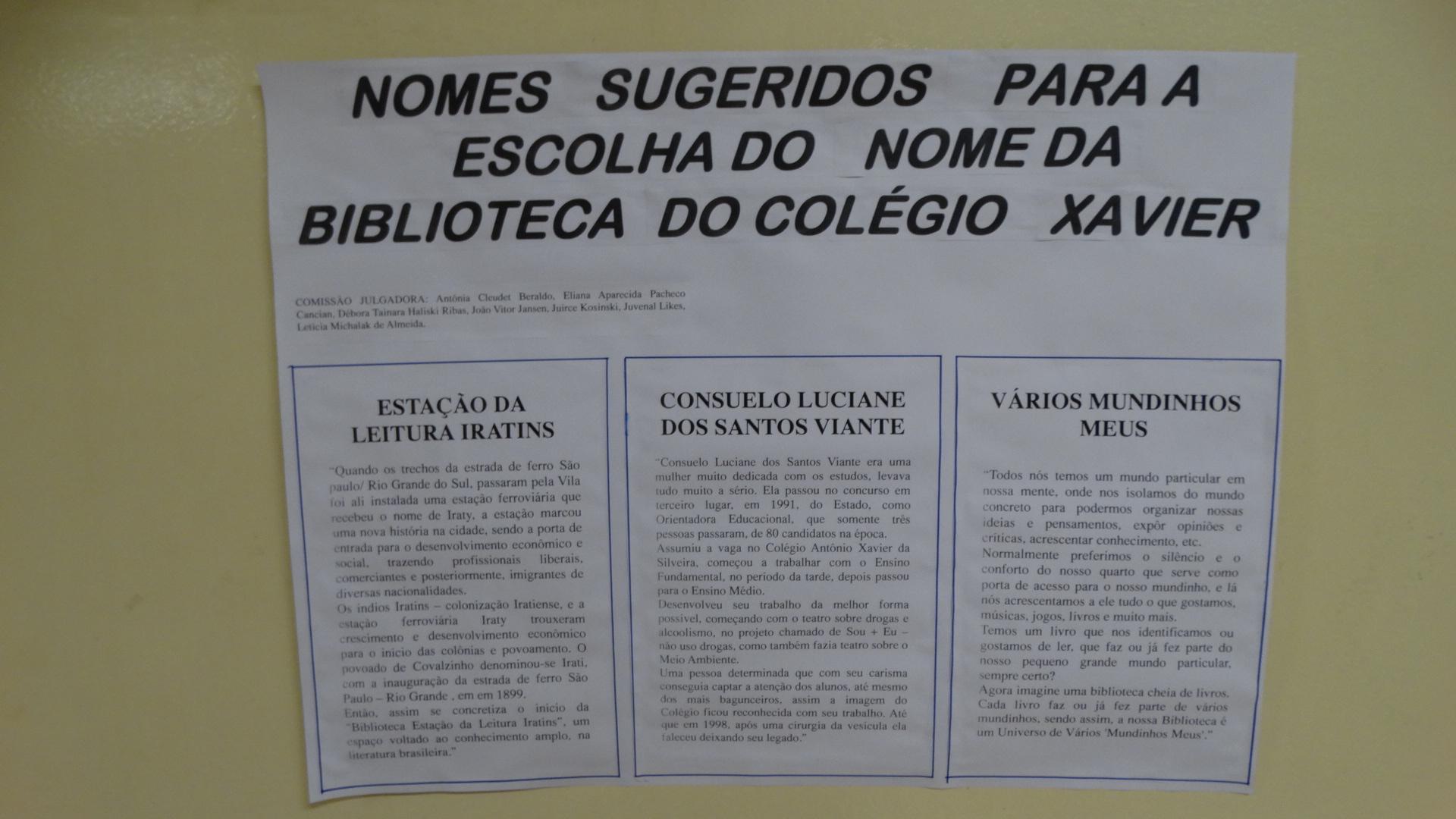 C E Antonio Xavier Da Silveira E F M N Administracao De Conteudo